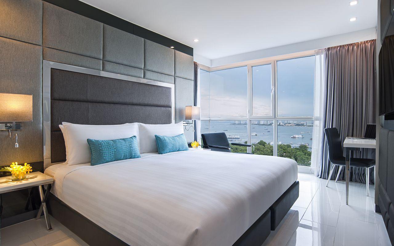 Amari Residences Pattaya_Two Bedroom Corner Suite Ocean Facing 1