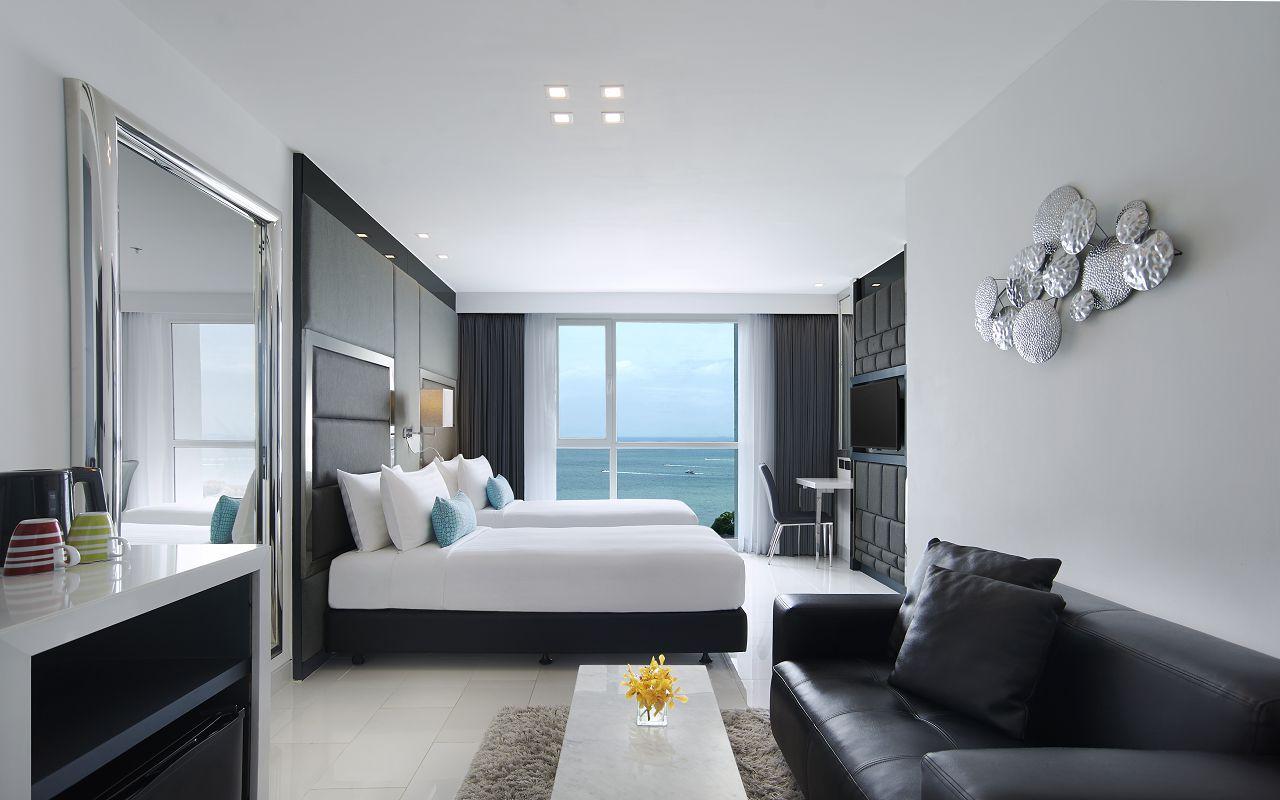 Amari Residences Pattaya_Two Bedroom Corner Suite Ocean Facing 2nd Bedroom