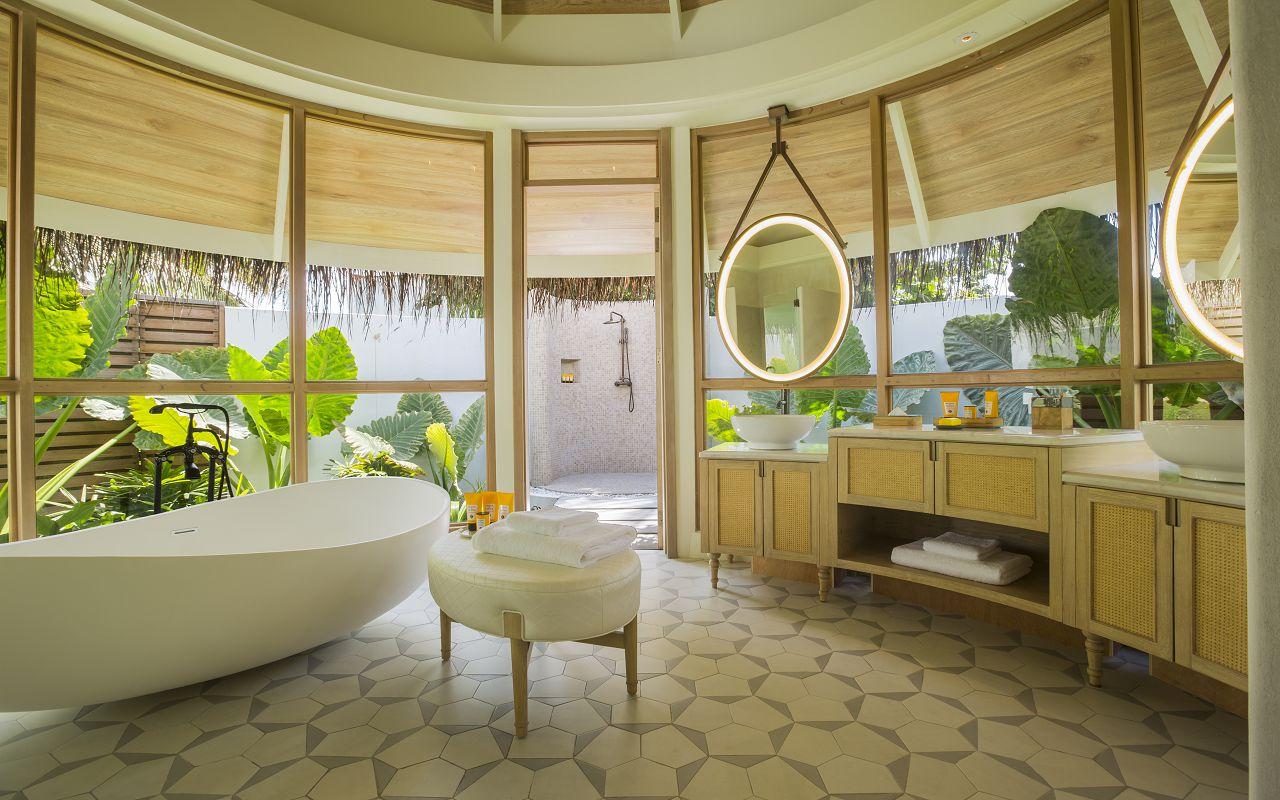 Milaidhoo Maldives accomm 2 beach pool villa bathroom (1) - Copy
