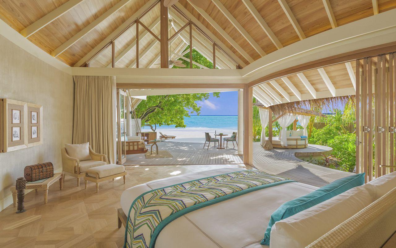 Milaidhoo Maldives accomm 2 beach pool villa bedroom (1) - Copy