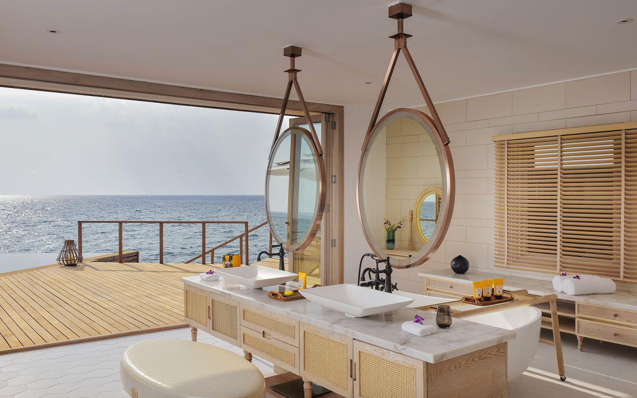 Milaidhoo Maldives accomm 4 Ocean Residence bathroom - Copy