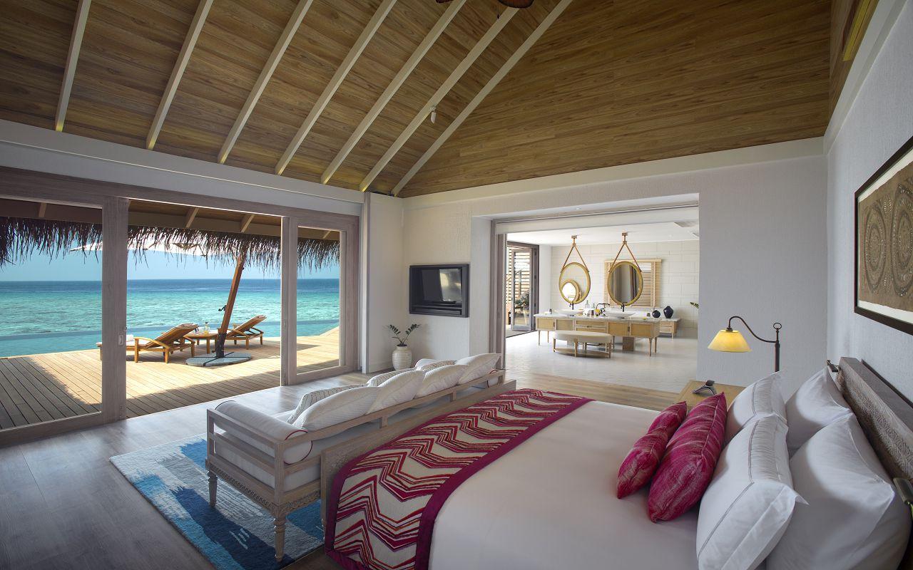 Milaidhoo Maldives accomm 4 Ocean Residence bedroom (3) bedroom jpeg