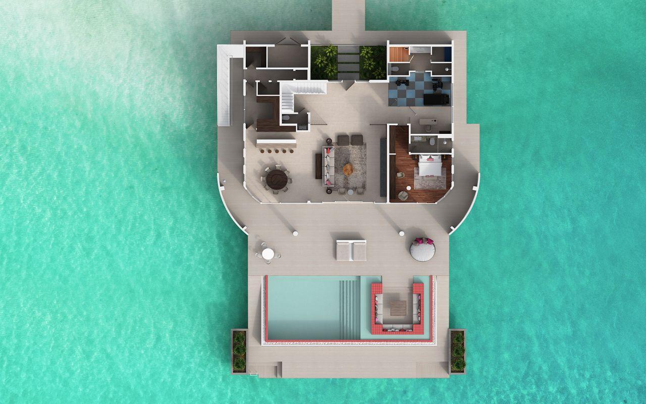 LUX Overwater Retreat 01
