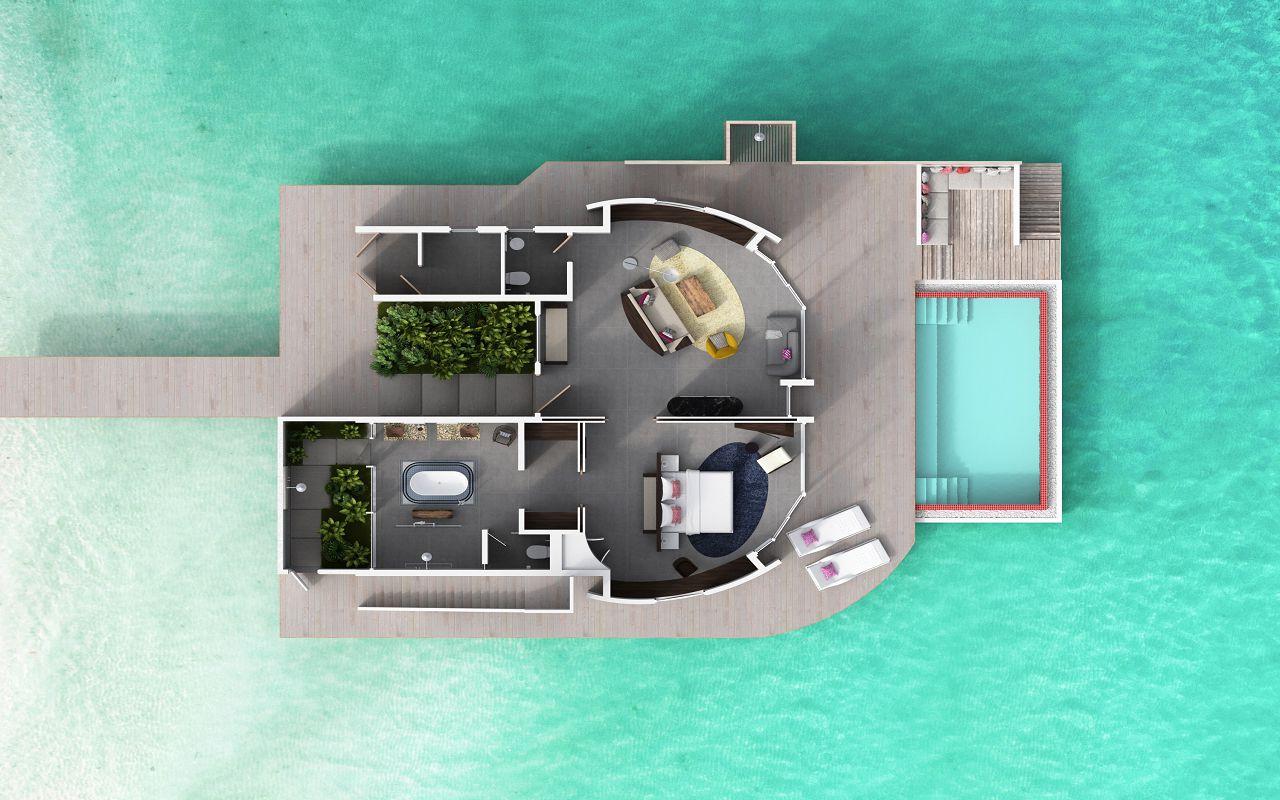 Overwater Villa & Deluxe Overwater Villa 01