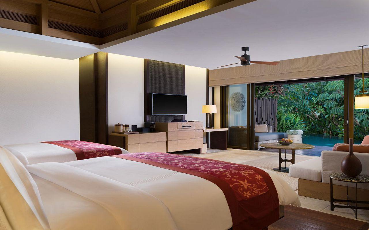 50512136-Pavilion Villa Double Queen Bedroom - The Ritz-Carlton, Bali