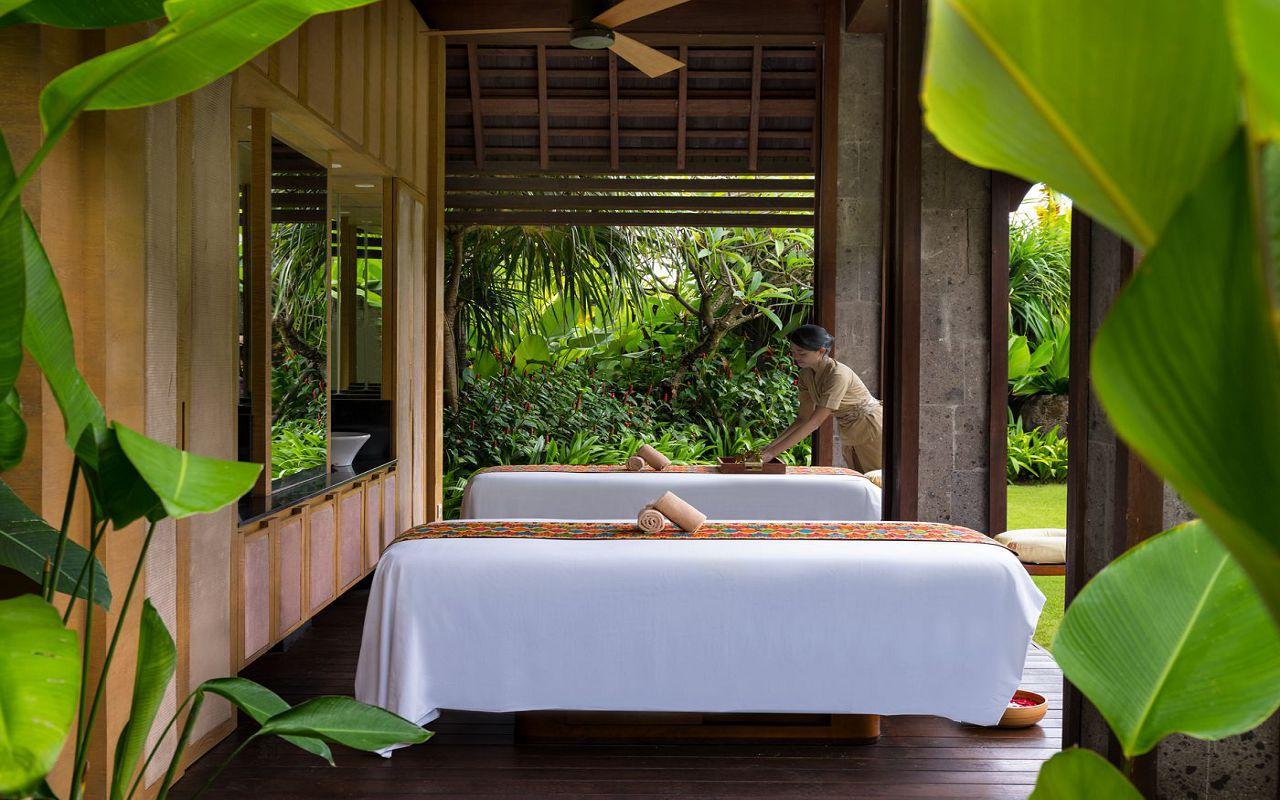 50512141-Ritz-Carlton Oceanfront Villa Massage Room with model - The Ritz-Carlton, Bali