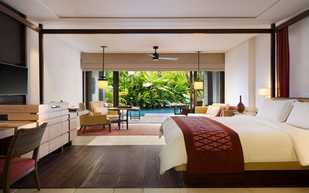50512144-Sawangan Junior Suite with Pool Access (Interior) - The Ritz-Carlton, Bali