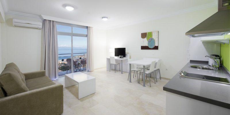 One Bedrom Apartment Room4