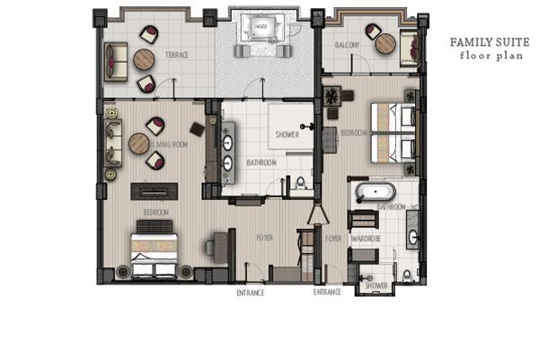 One Bedroom Suite8