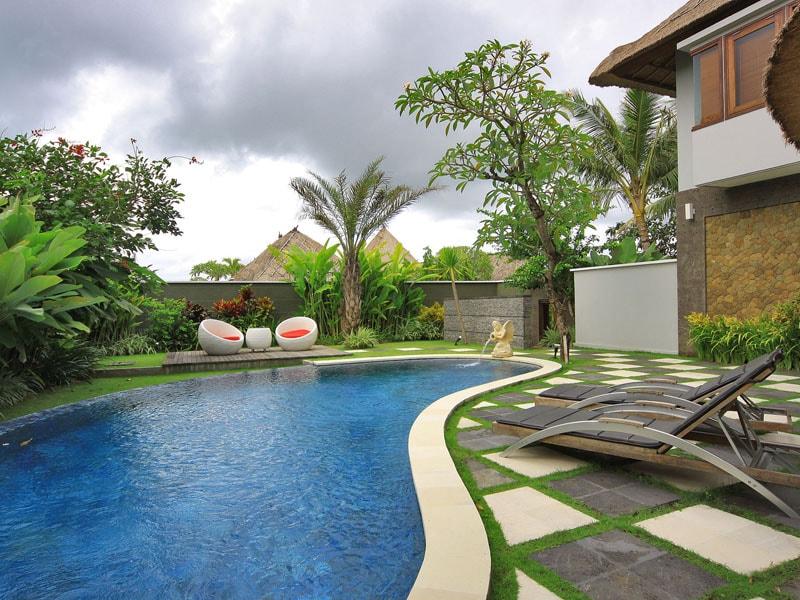 Outdoor Pool Junior Suite Room at Abi Bali Jimbaran-min