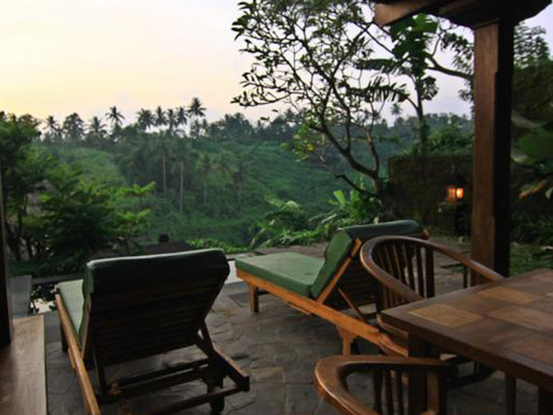 Plung Pool view and Chair