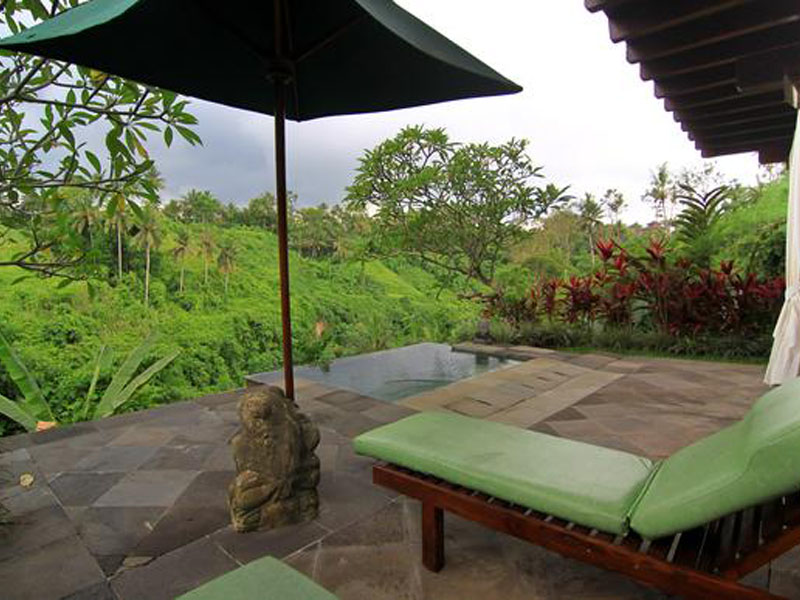 Plunge Pool and Long Chair