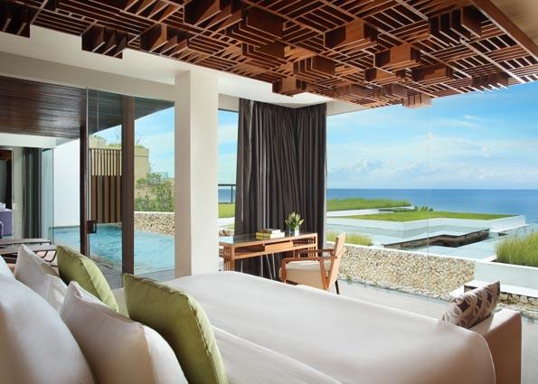 Three Bedroom Ocean View Pool Villa