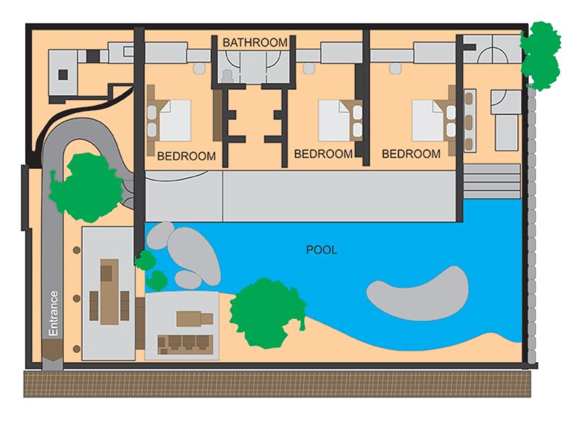Three bedrooms villa2