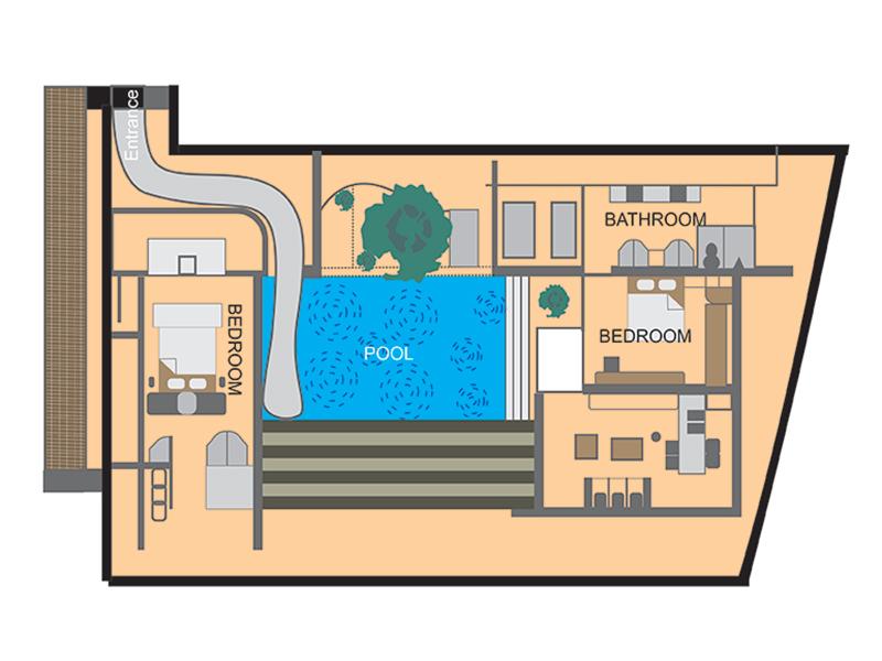 Two bedrooms villa2