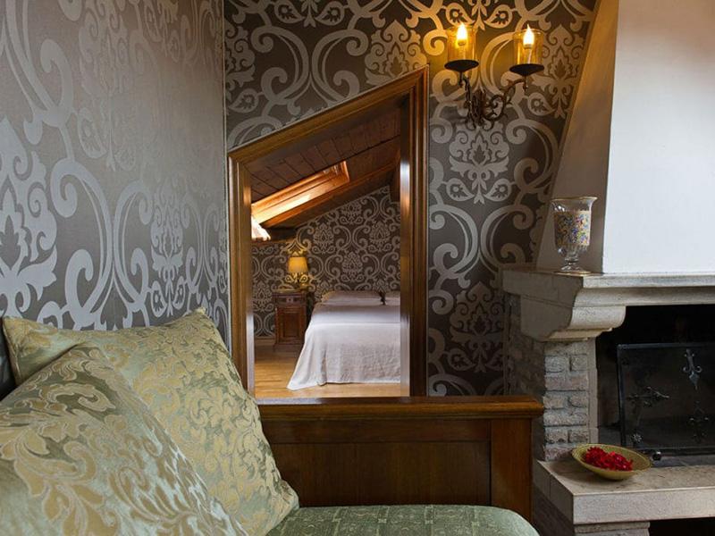 Junior Suite mansardata con terrazza panoramica