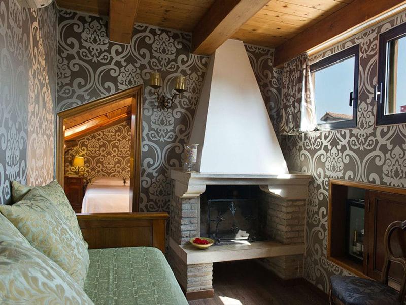 Junior Suite mansardata con terrazza panoramica3