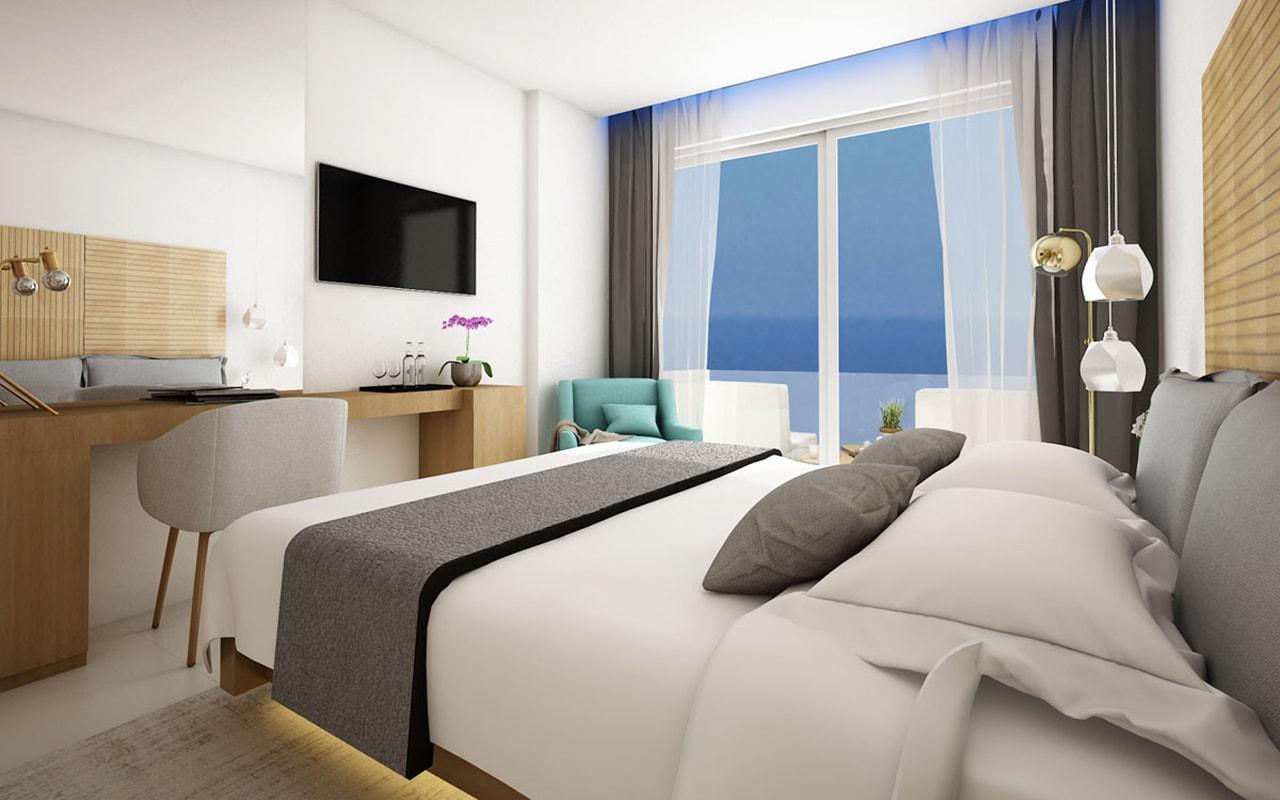 Standard Side Sea View Room-min