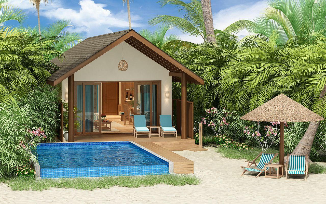 Deluxe Beach Pool Villa (2)