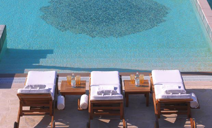 Deluxe Double or Twin Room with Pool View (1)