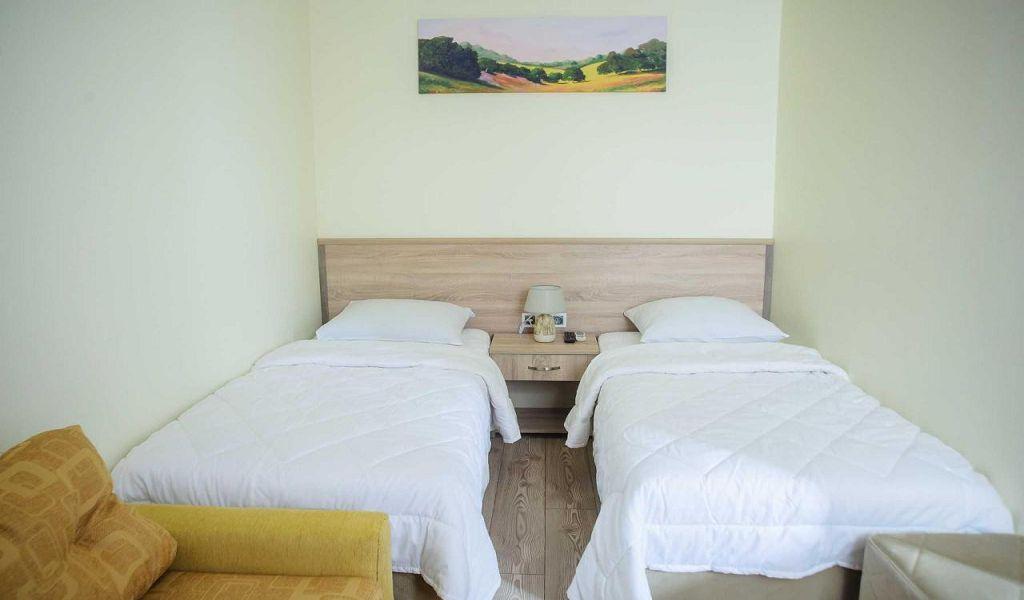 Стандартный двухместный номер с 1 кроватью или 2 отдельными кроватями 1