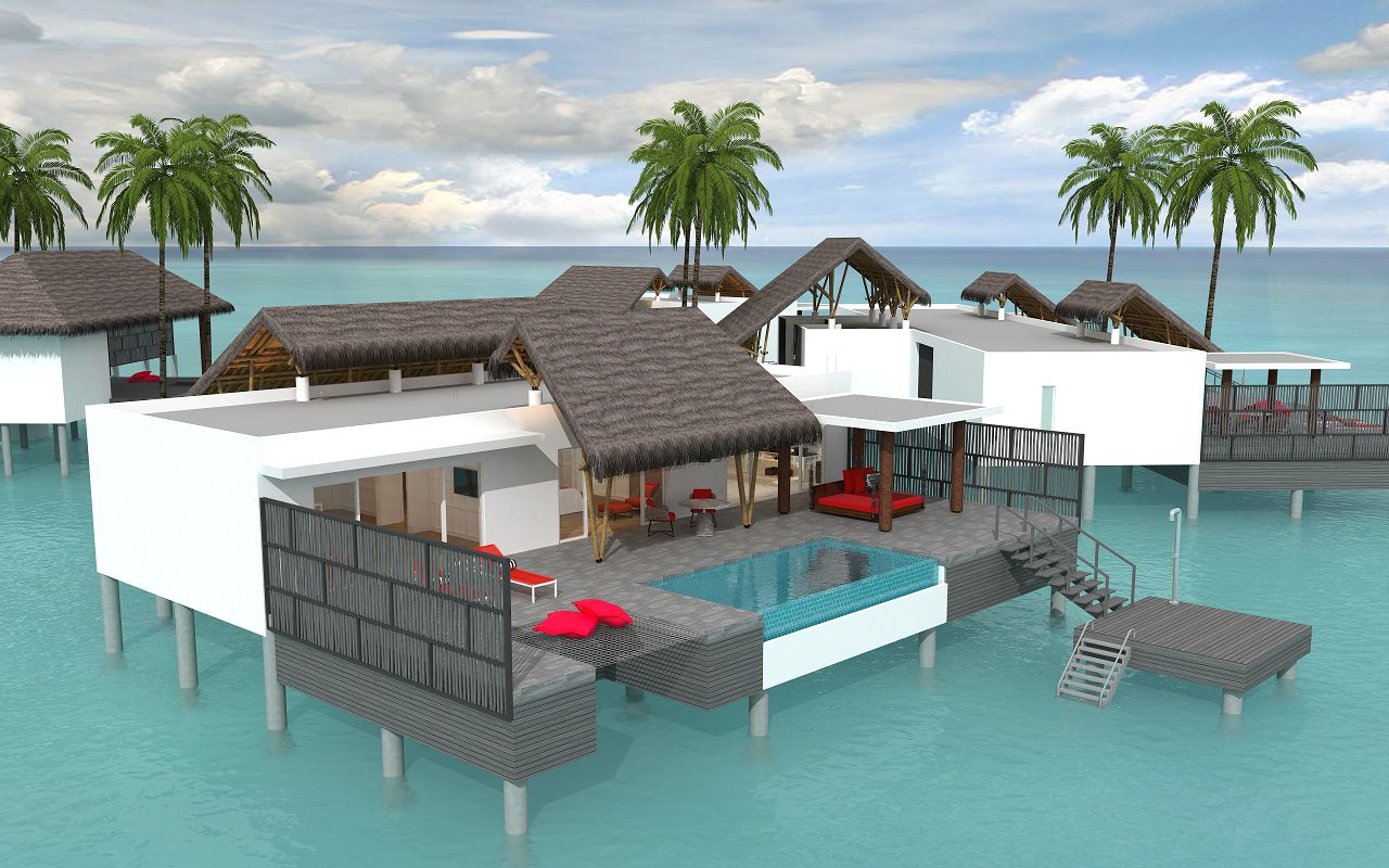 Superior Water Villa with Pool (1)