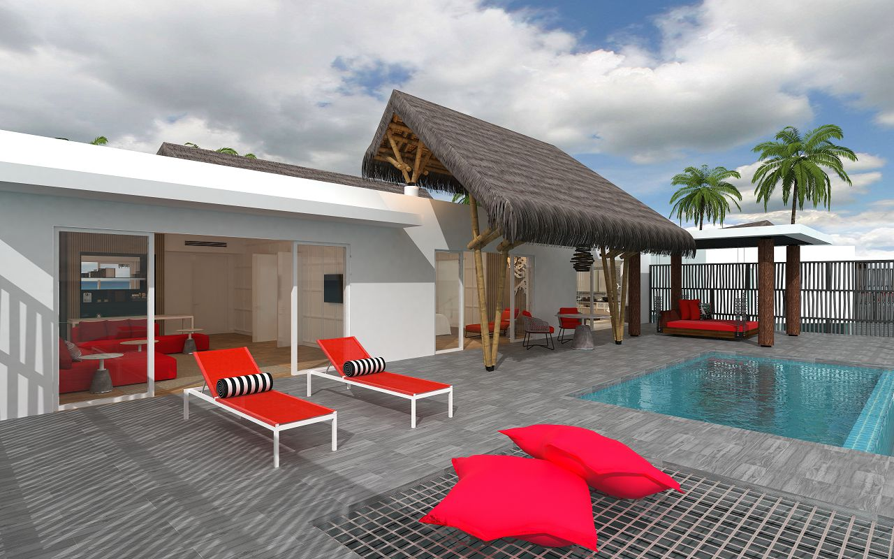 Superior Water Villa with Pool (8)
