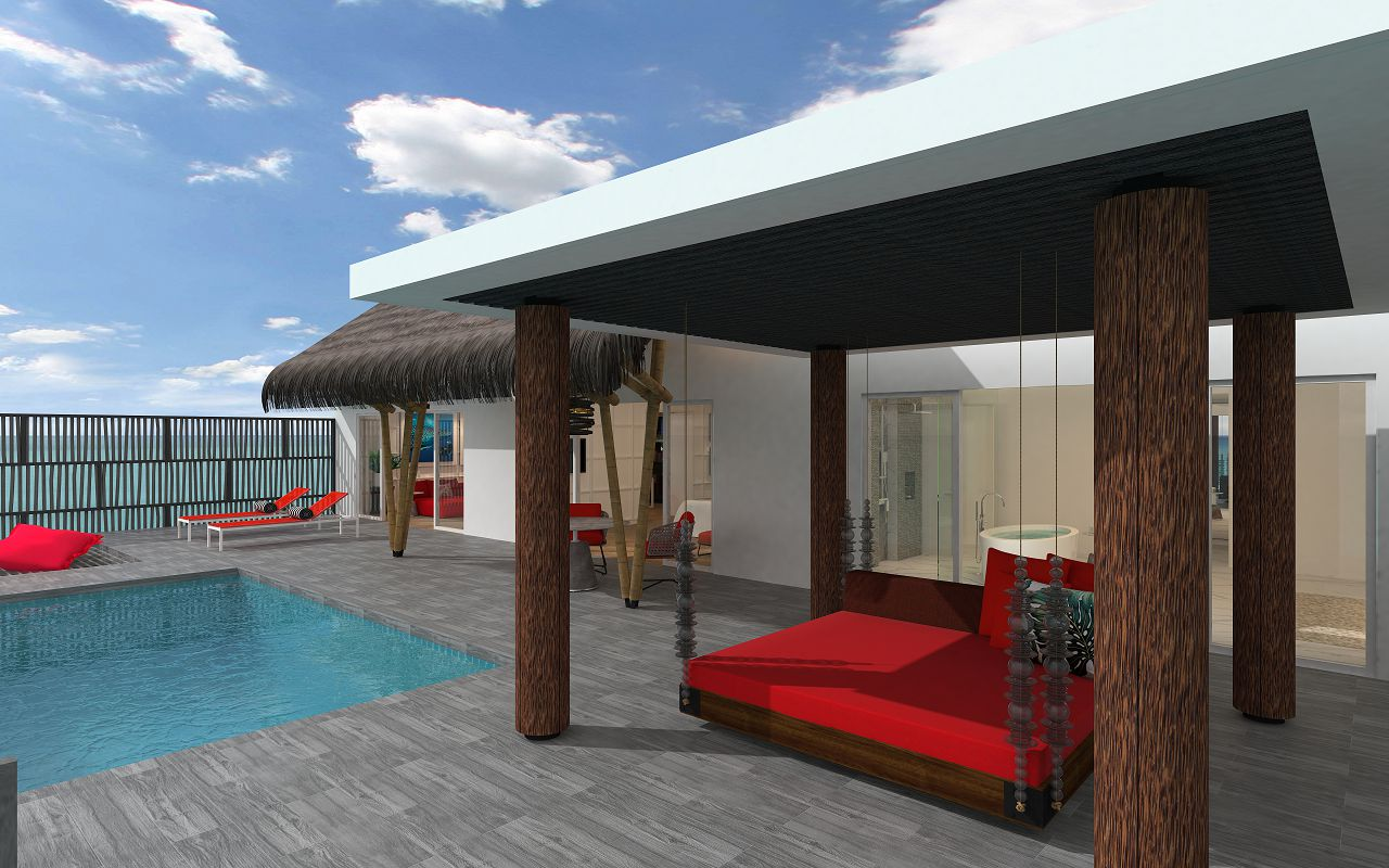 Superior Water Villa with Pool (9)
