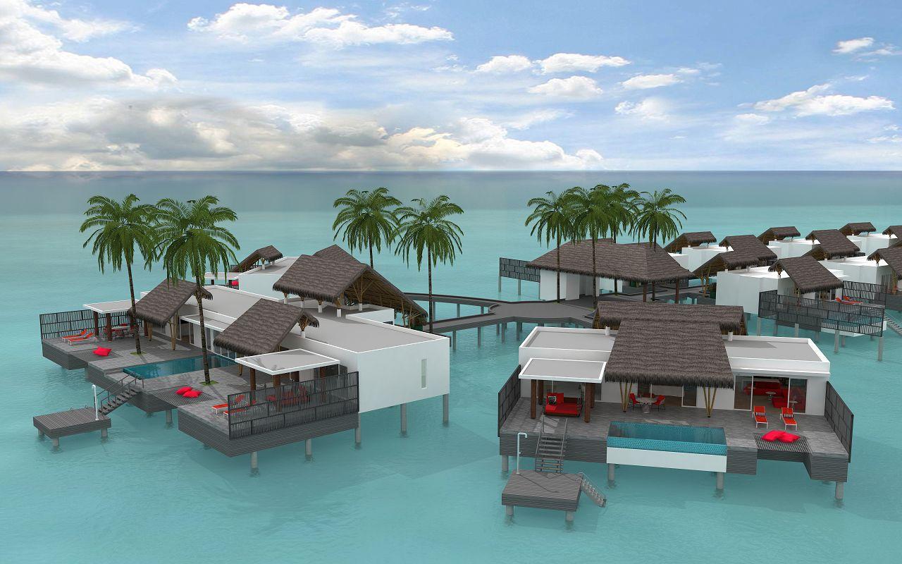 presidential water villa (1)