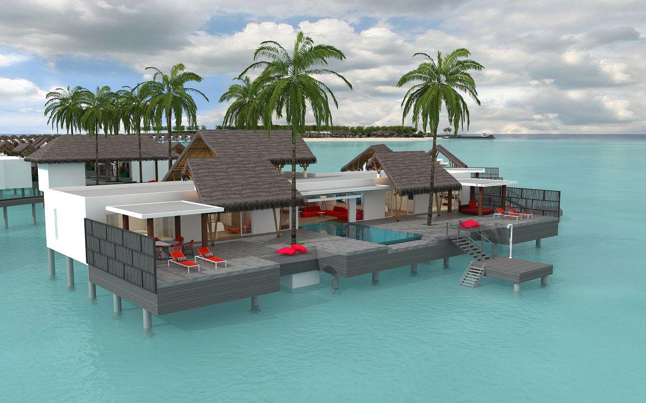 presidential water villa (2)
