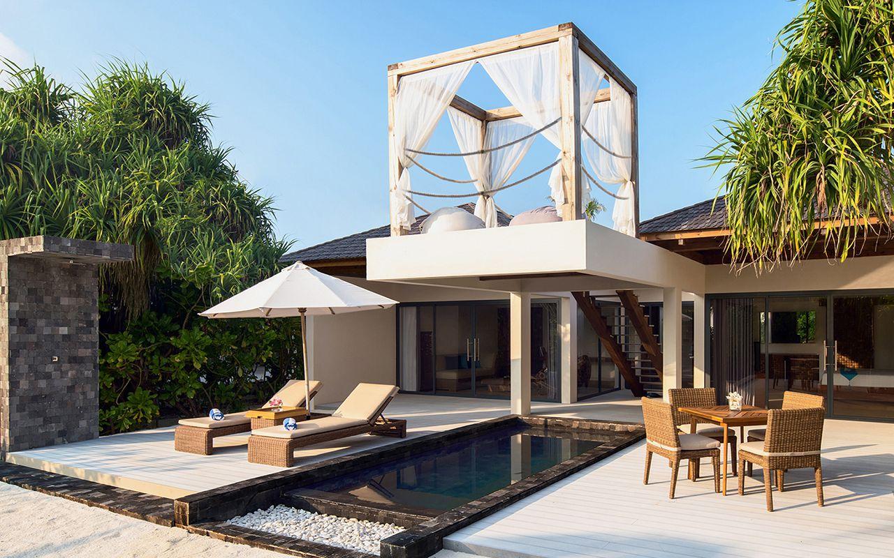 [:ru]Beach Pool Suite Exterior Movenpick Maldives[:]