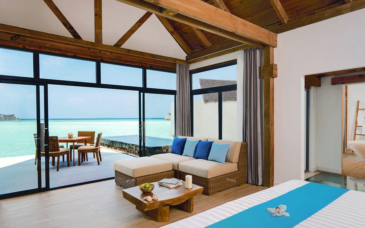 [:ru]Overwater Pool Villa Lagoon Bedroom Movenpick Maldives[:]