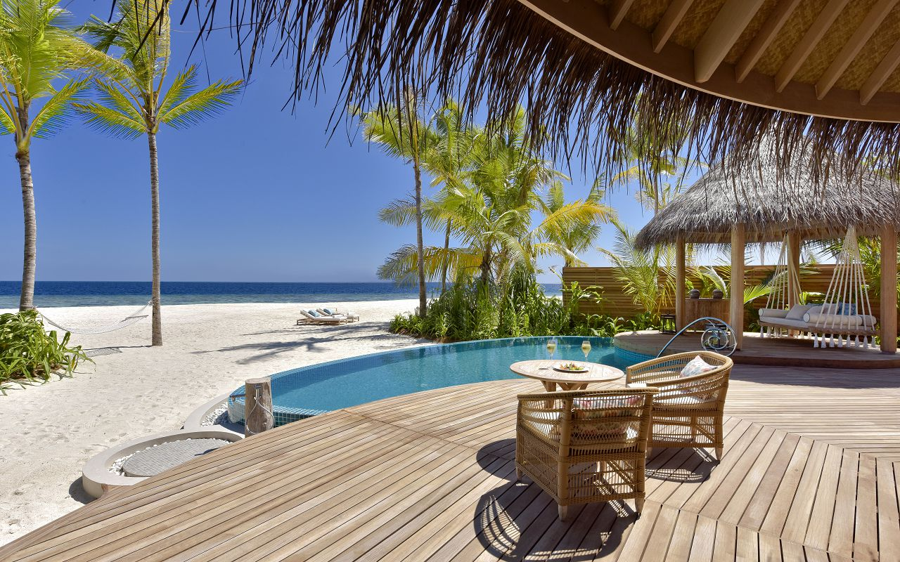 The Nautilus Maldives beach house exterior (4) sundeck