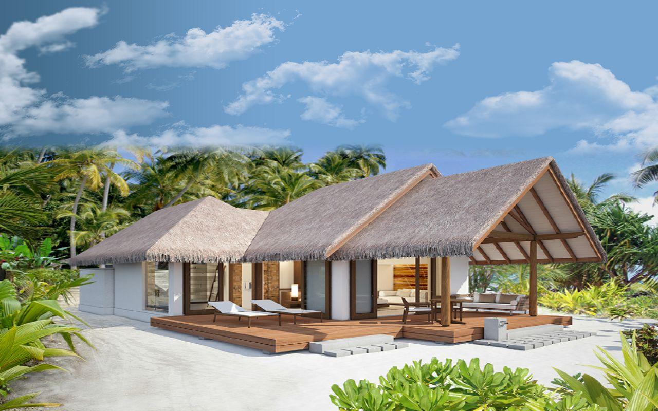Beach Villa Guest Area Exterior Renderings-3