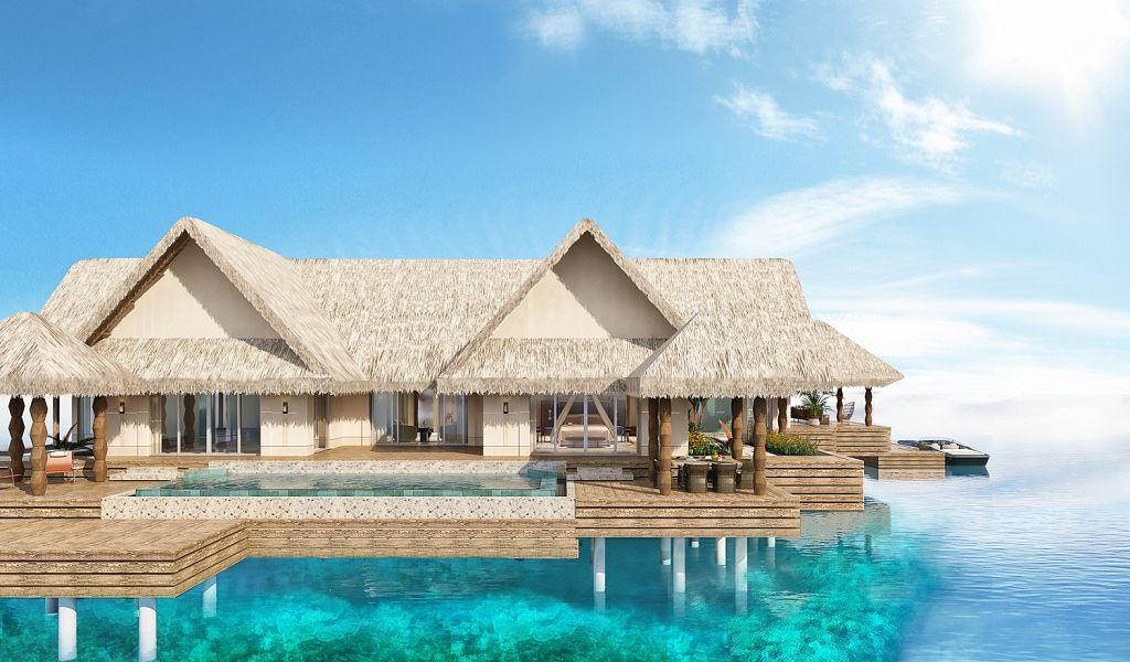Luxury Water villa (2)