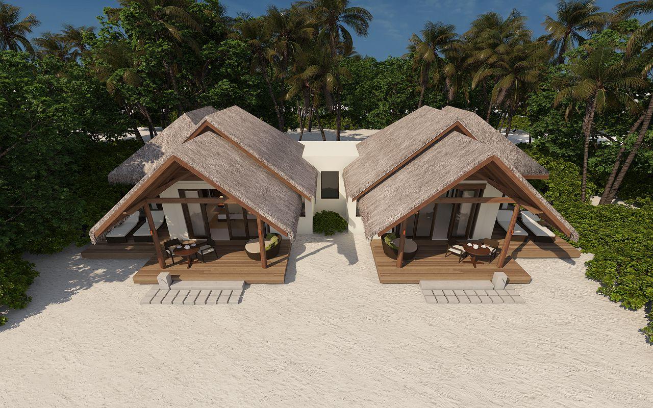 family beach villa_aerial_1
