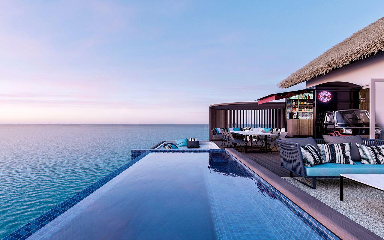 Hard Rock Hotel Maldives - Rock Star Villa Pool