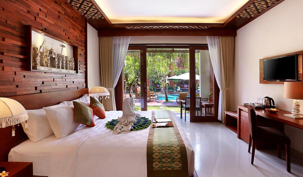 Super Deluxe Double Room with Pool View 5-min