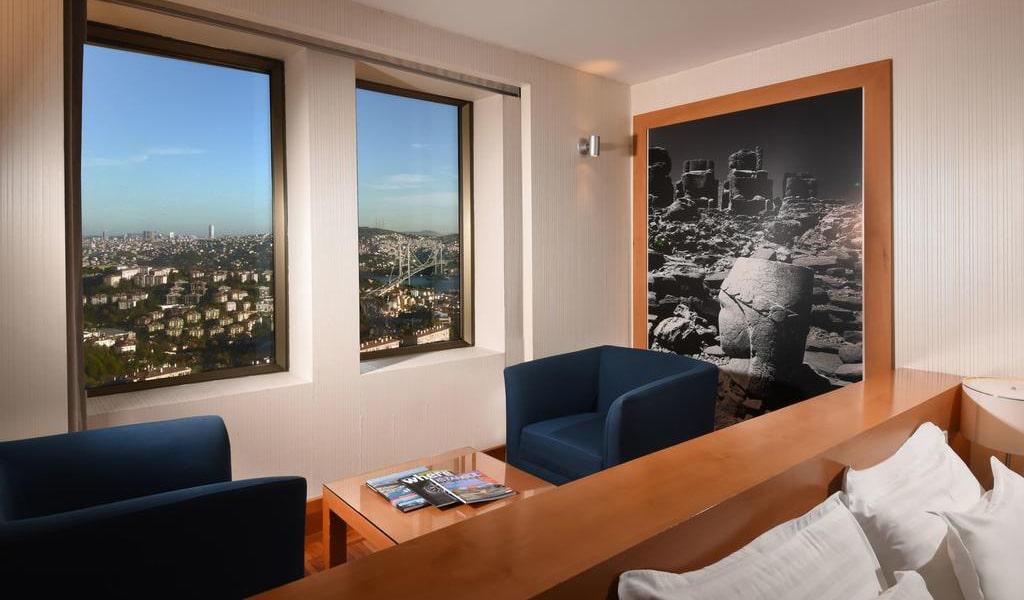 Deluxe Double Room with Bosphorus View 2-min
