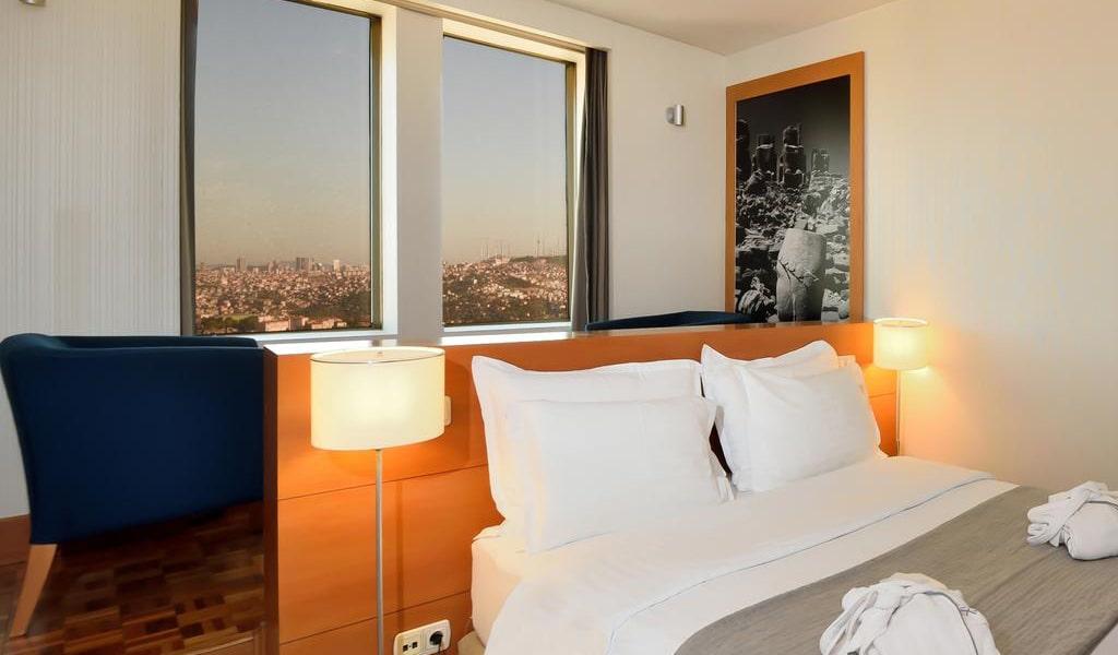 Deluxe Double Room with Bosphorus View-min