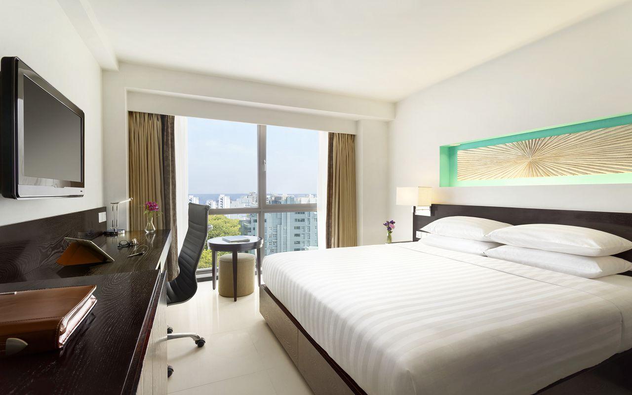 Hotel Jen Male Maldives - Deluxe City View Guest Room - 1184235