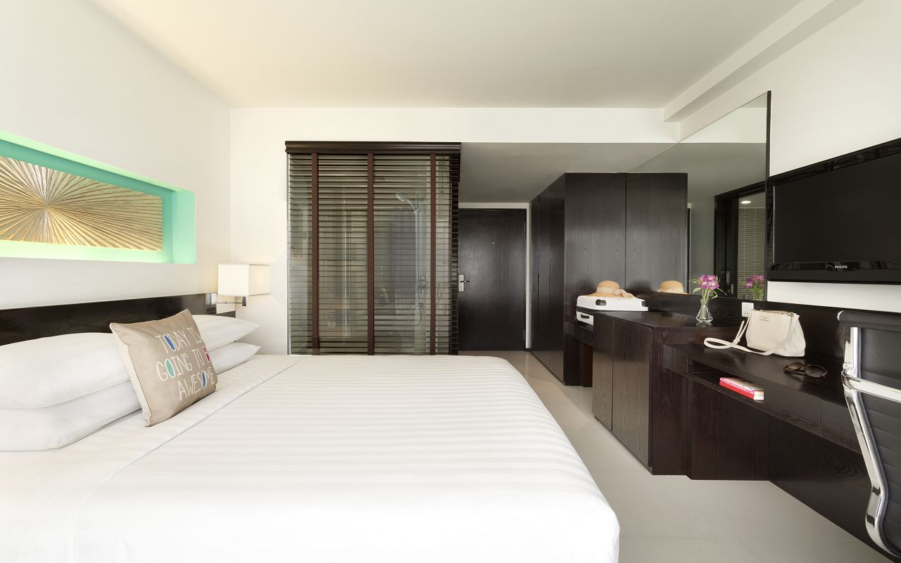 Hotel Jen Male Maldives - Deluxe City View Guest Room - 1184237