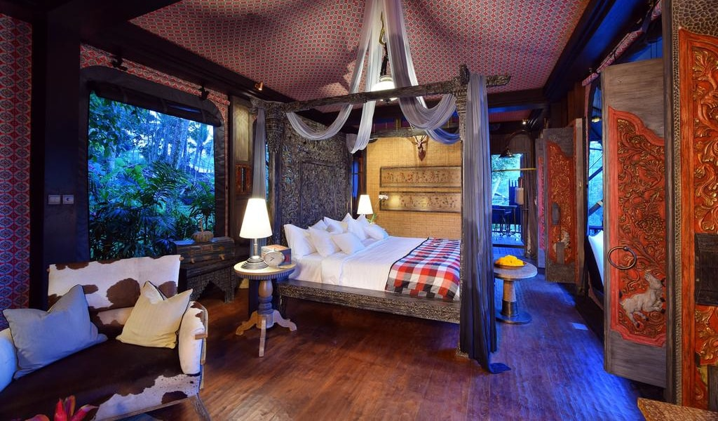 Rainforest Tent - King Room with Free Benefit 3-min