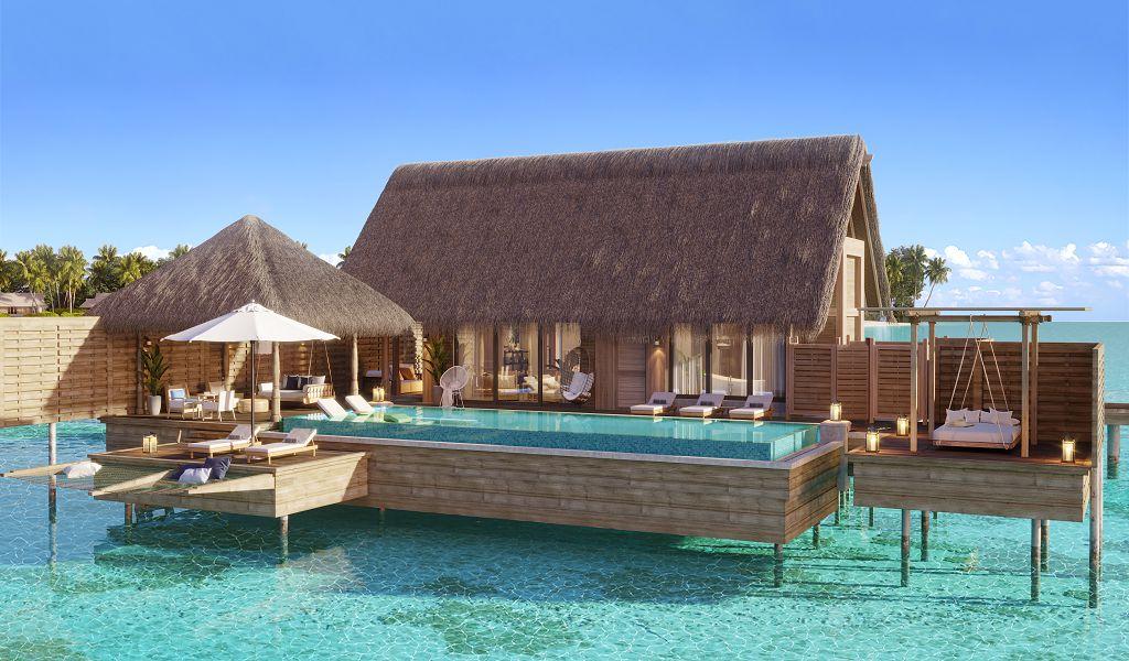 Waldorf Astoria Maldives Ithaafushi_1 Bedroom Overwater Villa_Exterior