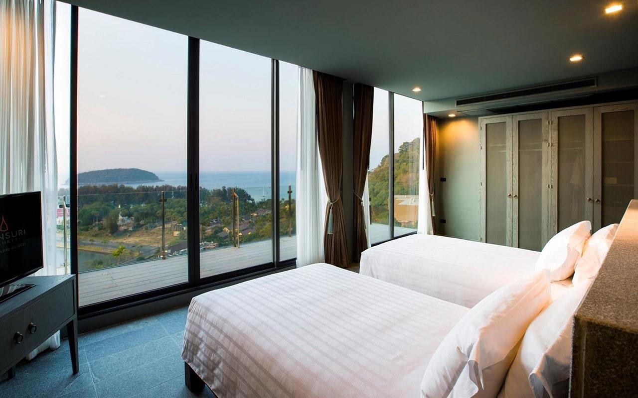 ocean view two-bedroom pool villa6-min