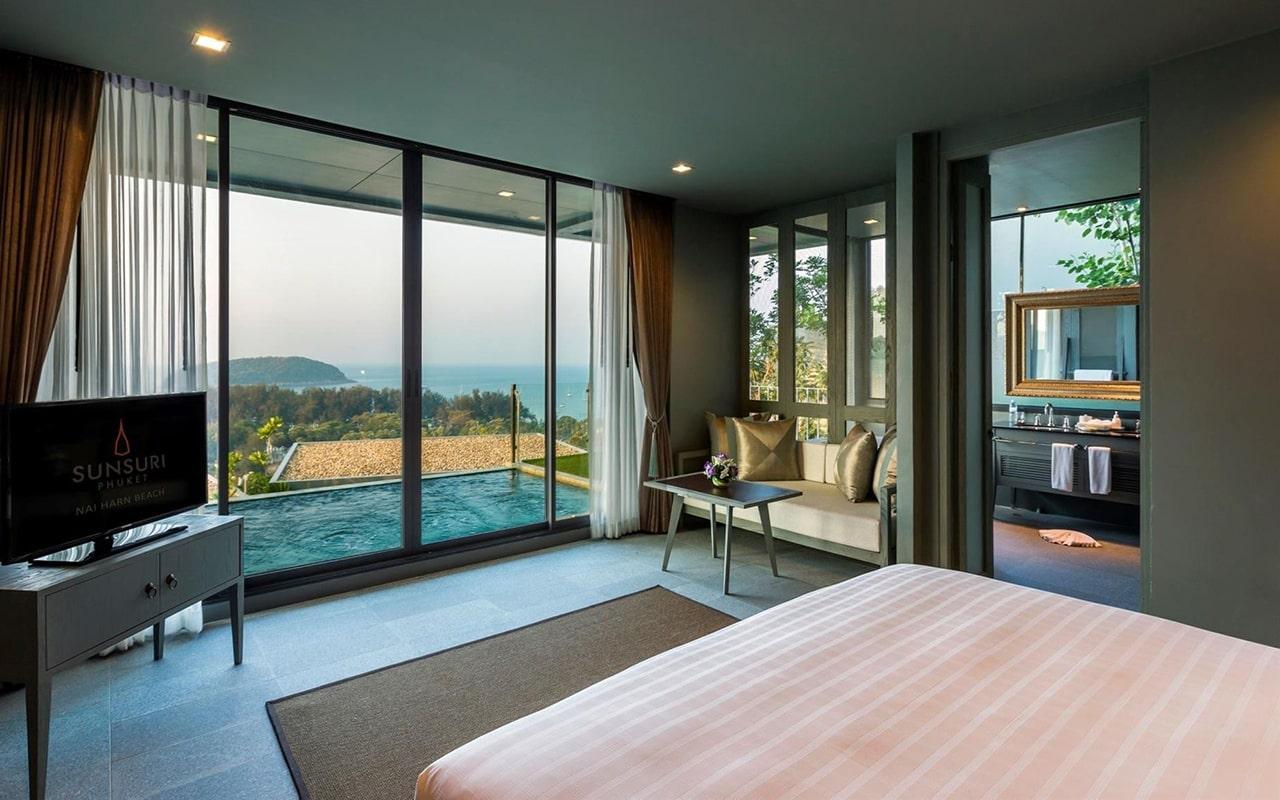 ocean view two-bedroom pool villa7-min