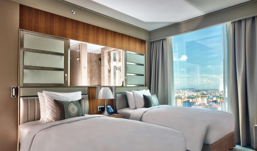 Deluxe, Guest room, 2 Twin-Single Bed(s), Bosphorus view 1-min