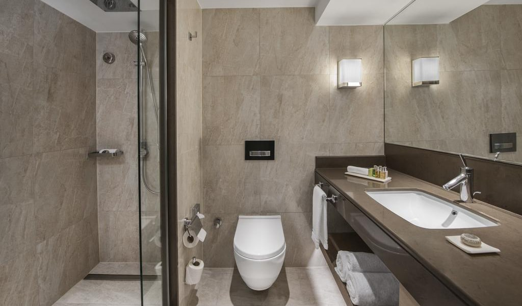 Executive, Club lounge access, Guest room, 1 King, City view 1-min