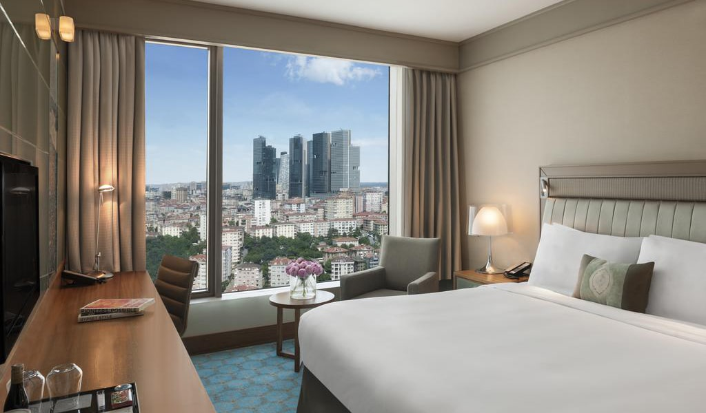 Executive Room, Club lounge access, Guest room, City view, 1 King 1-min
