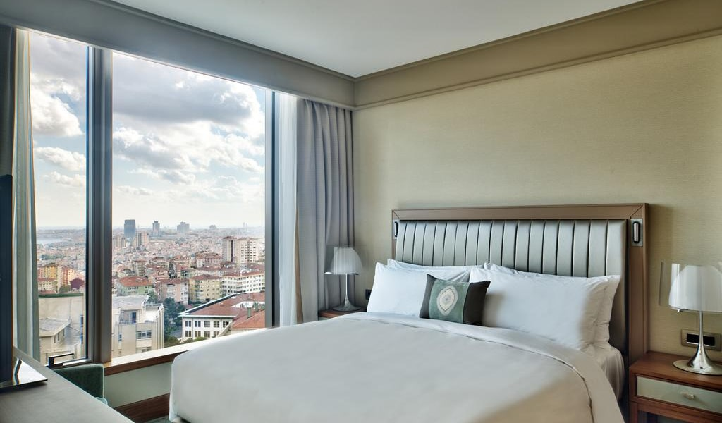 Executive Room, Club lounge access, Guest room, City view, 1 King 2-min